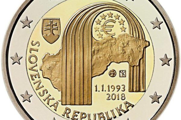 Moeda de 2 Euros da Eslováquia