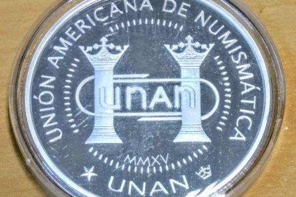 SGN e UNAN promovem ação numismática.